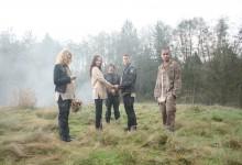 Stargate Universe- Col Young,Lt Scott,Chloe, Sgt Greer,& TJ