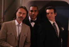 Stargate Universe – Dr Rush, Sgt Greer, and Col Young